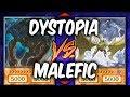 Yugioh DYSTOPIA vs MALEFICS (Yu-gi-oh God Card Deck Duel!)