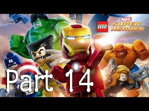 LEGO: Marvel Super Heroes - M.O.D.O.K. (That Sinking Feeling) - Part 14
