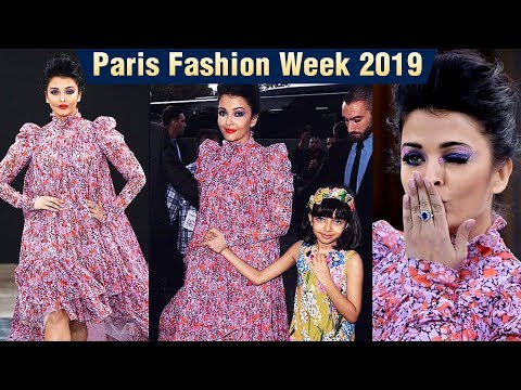 Aishwarya Rai Rampwalk Like A QUEEN With Aaradhya | Paris Fashion Week 2019