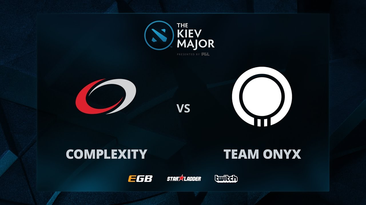 compLexity vs Team Onyx, Game 2, The Kiev Major NA Main Qualifiers Play-off