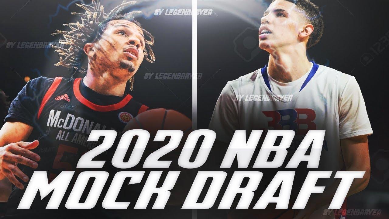 A Way Too Early 2020 Nba Mock Draft Cole Anthony Lamelo Ball Rj Hampton
