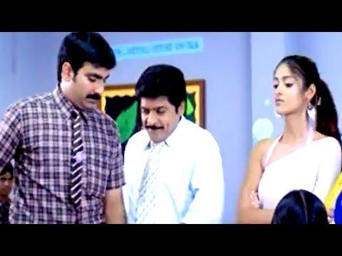 Khatarnak Full Movie ||Back To Back Comedy Scenes Part 02 || Ravi Teja,Ileana