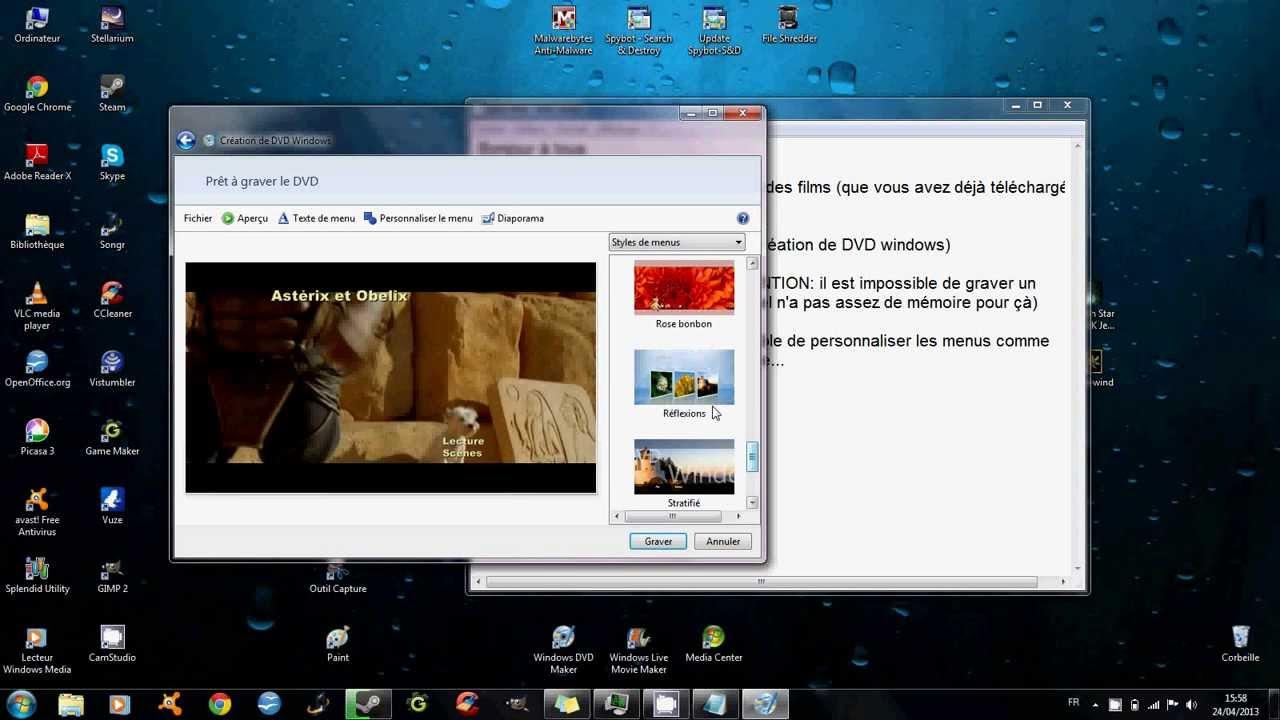 enregistrer un extrait d'un dvd ou d'une vidéo avec VLC