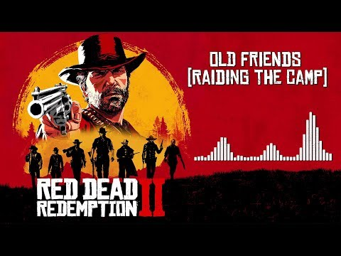 Red Dead Redemption 2  Soundtrack - Old Friends Raiding the Camp   With Visualizer