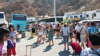 Плывём на остров Санторини (Греция)(Плывём на остров Санторини, двухдневная экскурсия. Трансфера из Ретимнона не было предусмотрено, пришлось..., 2014-09-21T15:33:06.000Z)