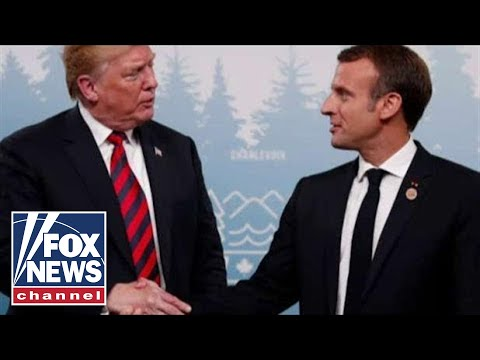 Trump and Macron trade jabs over 'nationalism'