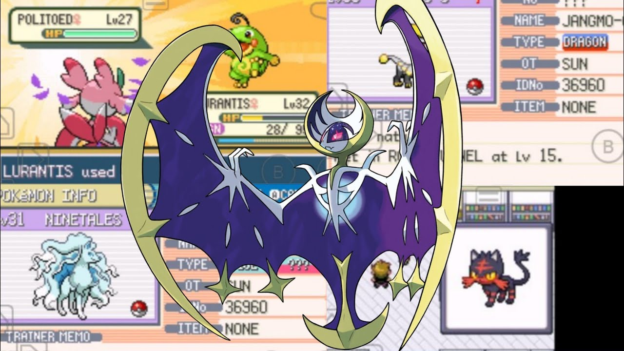 New Completed Pokemon Gba Rom Hack With Gen 7 Alola Forms Starters New Evolutions Youtube
