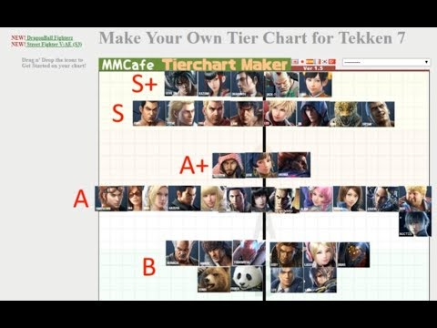 13 Characters In Top 10 Aris Tekken 7 Tier List Season 1 Youtube