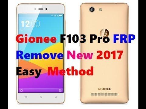 GIONEE F103/F103 pro FRP UNLOCK NEW TRICK 2017