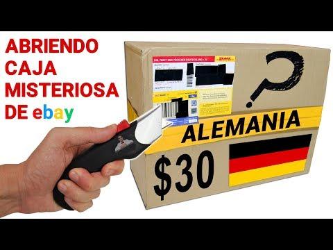 Abriendo Caja Misteriosa de Ebay de ALEMANIA de $30 📦❓ | Caja Sorpresa