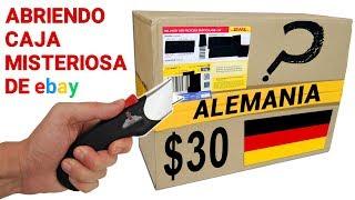 Abriendo Caja Misteriosa de Ebay de ALEMANIA de $30 📦❓   Caja Sorpresa