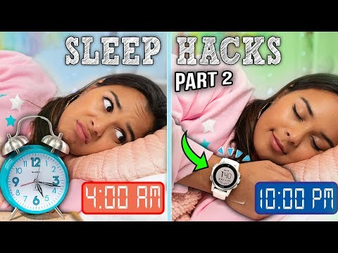How to Fall Asleep in 60 Seconds | 9 Easy Sleep Life Hacks