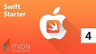 Видео курс Swift Starter. Урок 4. Архитектура iOS приложений.