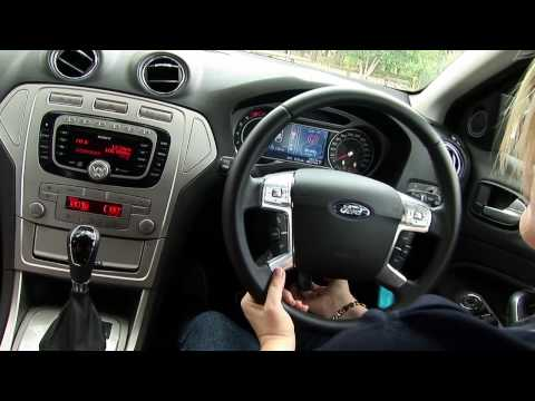 2010 Ford Mondeo Zetec Wagon Video Car Review NRMA Drivers Seat