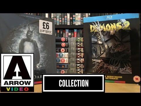 Arrow Video Bluray Collection