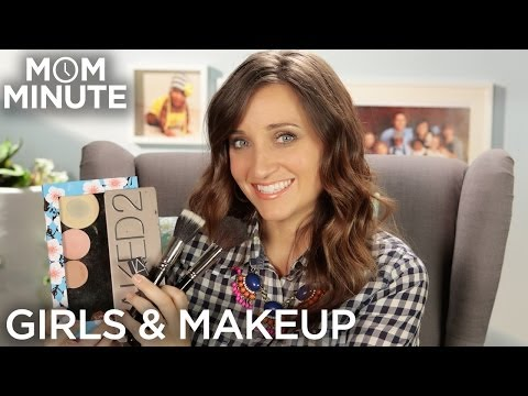 When should you start wearing makeup? - Mom Minute with Mindy of CuteGirlsHairstyles from YouTube · Duration:  3 minutes 27 seconds