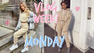 VLOG WEEK 1! | MONDAY | Sophia and Cinzia