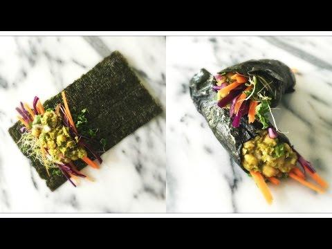 Easy Vegan Sushi Rolls No Rice or Sushi Mat (Low Carb!)