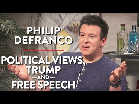 Philip DeFranco on Political Views, Trump, and Free Speech  (Pt. 2)