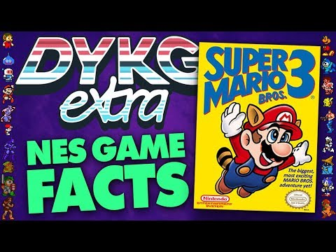 NES Games Facts - Did You Know Gaming? Feat. Greg (Nintendo)
