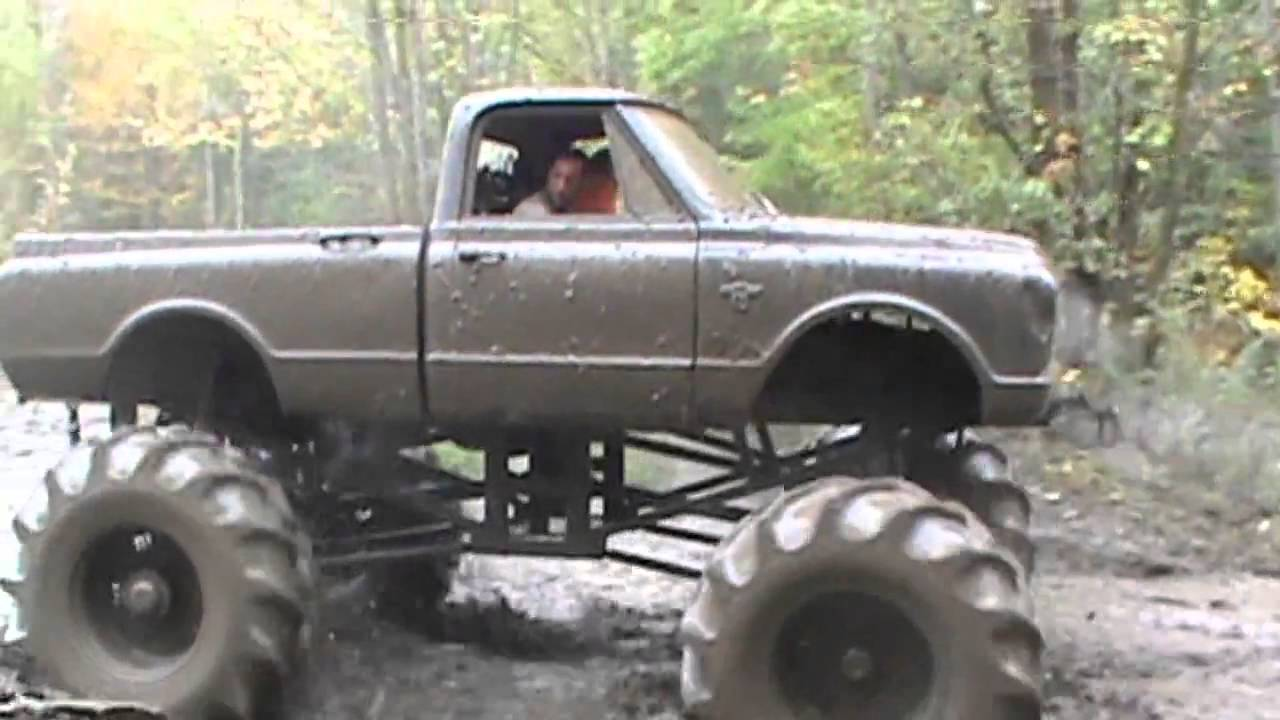 how to build a mega mud truck