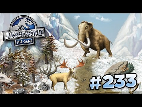 A Glacier Park For Christmas? || Jurassic World - The Game -