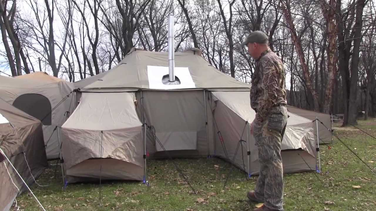& Cabelau0027s Outfitter Series ISQ Tent Review - YouTube