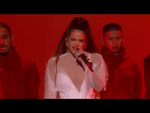 "WATCH: Rosalia Perform ""Juro Que"" & ""Malamente"" | 2020 GRAMMY Awards"