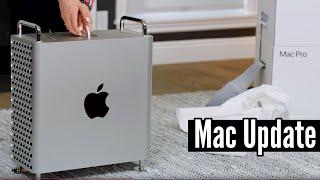 Delikatny update komputera. Mój nowy Mac Pro