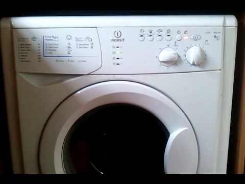 Washing Machine Indesit Wixl143 Clicking Noise Youtube