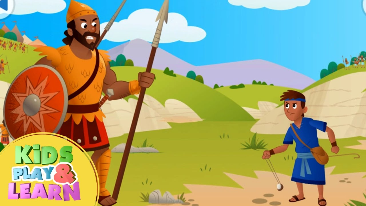 David And Goliath Bible Story For Kids Children Youtube