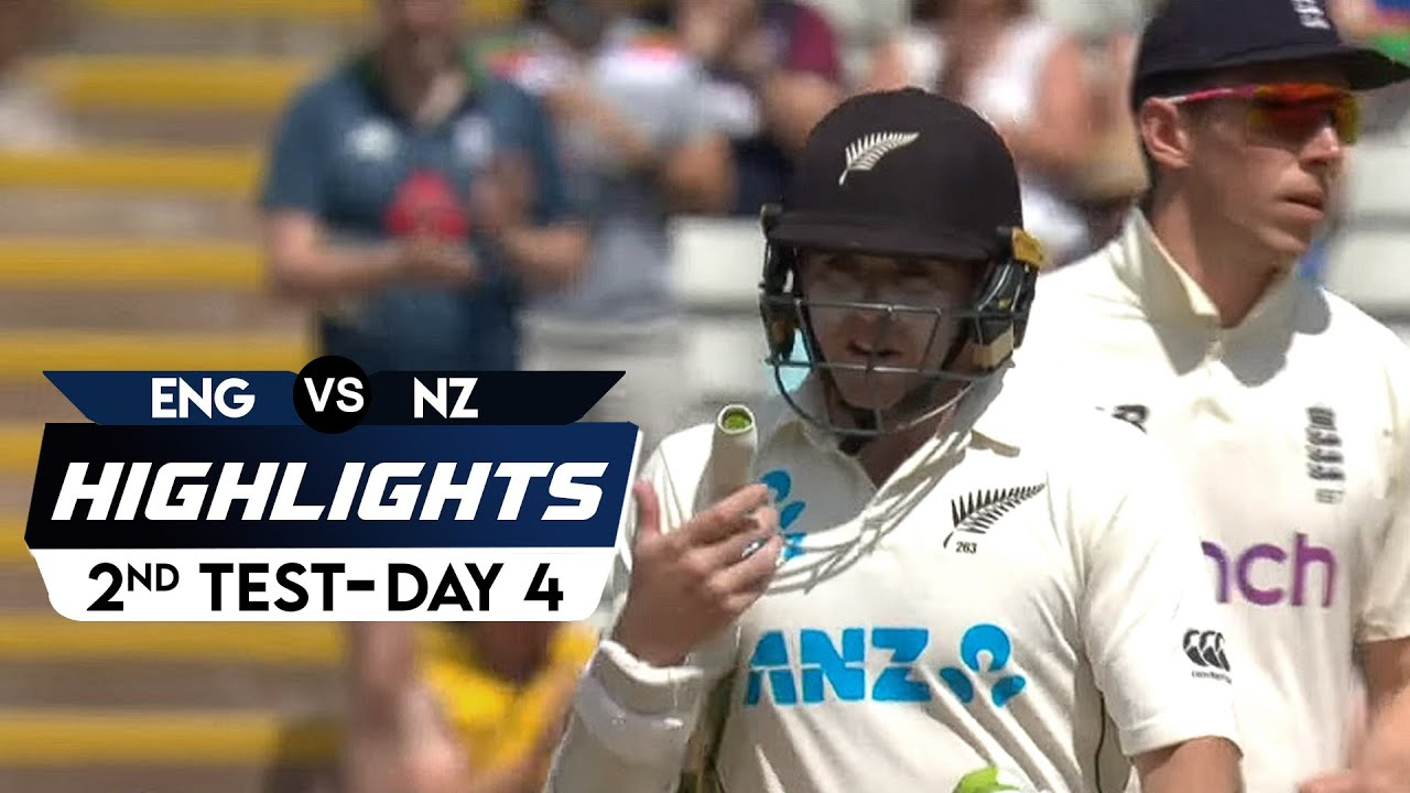 New Zealand Tour Of England 2021 | 2nd Test Day 4 | Highlights | 13th June, 2021