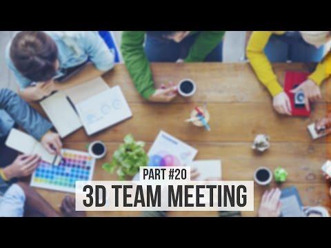 3D Team Meeting | Making an Animated Movie Season 2 (#20)