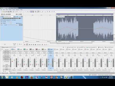 Sony Acid Music Studio 8 Tutorial Assignable Effects  Automation www.robtransini.com