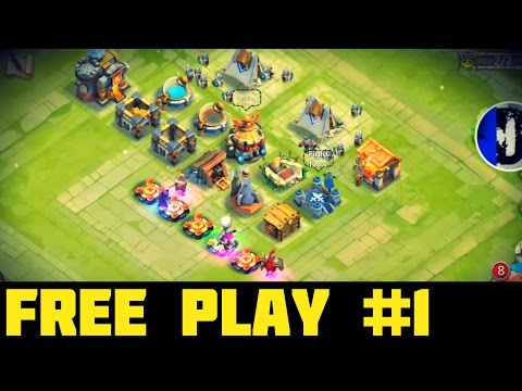 Castle Clash Free Play #1: Frost Witch Greater Than Pumpkin Duke??!!