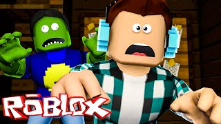 Roblox - PAC VIROU ZUMBI !! (Roblox Zombie Rush )