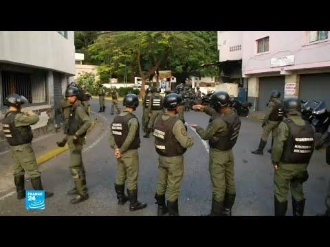 اعتقال 27 عسكريا فنزويليا تمرّدوا على مادورو  - نشر قبل 14 ساعة