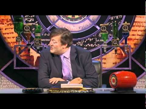 QI: Making fun of Stephen Fry (Part 2)