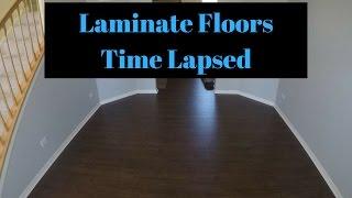 Laminate Flooring Time Lapsed - Pergo Outlast+