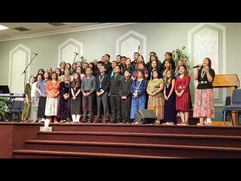 Chinle choir Potters House 2018