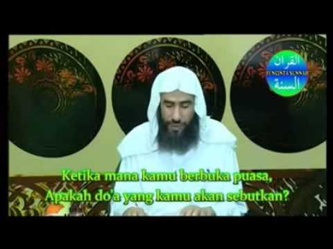 Doa Berbuka Puasa Ramadhan sesuai sunnah - Syaikh wahid abdussalam bali