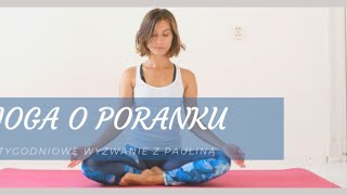 Joga o Poranku - Power Joga - na żywo 18.01 I  45 min  I  Yoga with Paulina