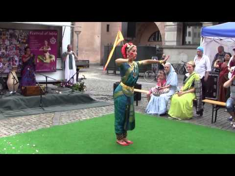 Indian Classic Dances, by Lenka & Margarida, in Wonderful Copenhagen  1/