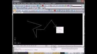 Урок 5. NanoCAD. Панель черчения