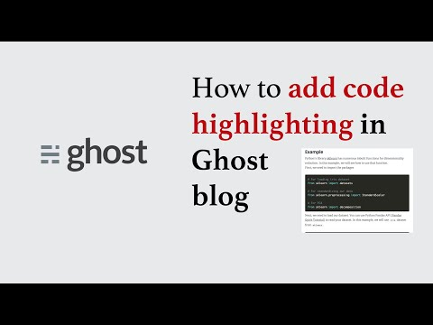 How to add Code/Syntax Highlighting in Ghost Blog, How to add Prism Highligher in Ghost
