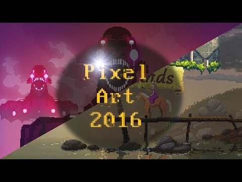 Top 10 Pixel Art Games Of 2016 乁( ˙ ω˙乁)