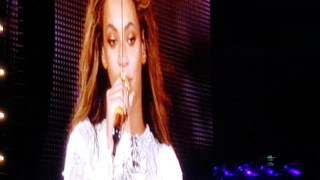 Beyonce Me Myself & I live in Raleigh Nc 5/3/16