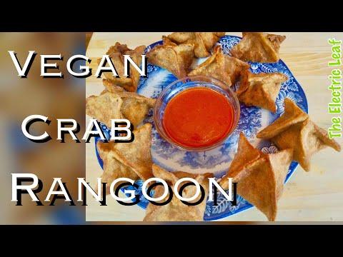 Alkaline Vegan Crab Rangoon! Dr. Sebi✅ Soy-Free Electric Food🔋⚡️