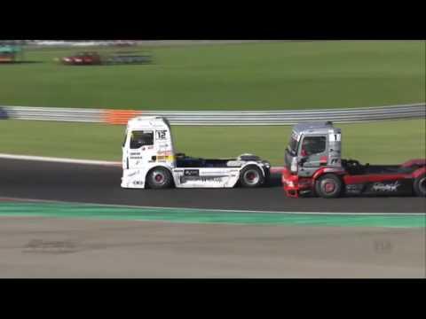 FIA ETRC 2016. Race 2 Hungaroring. Battle on the Last Laps & F.Vojtisek Hard Crash on Finish