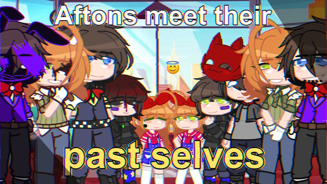Download Aftons meet their past selves||FNaF||Gacha Club Afton Family